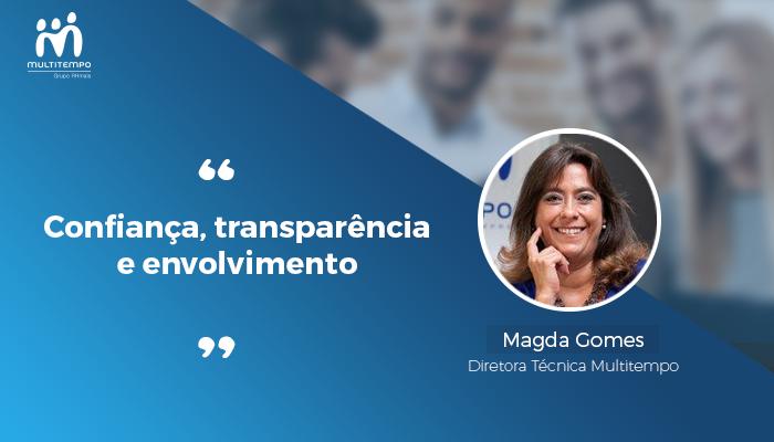 Confiança Transparência Envolvimento - Magda Gomes Multitempo