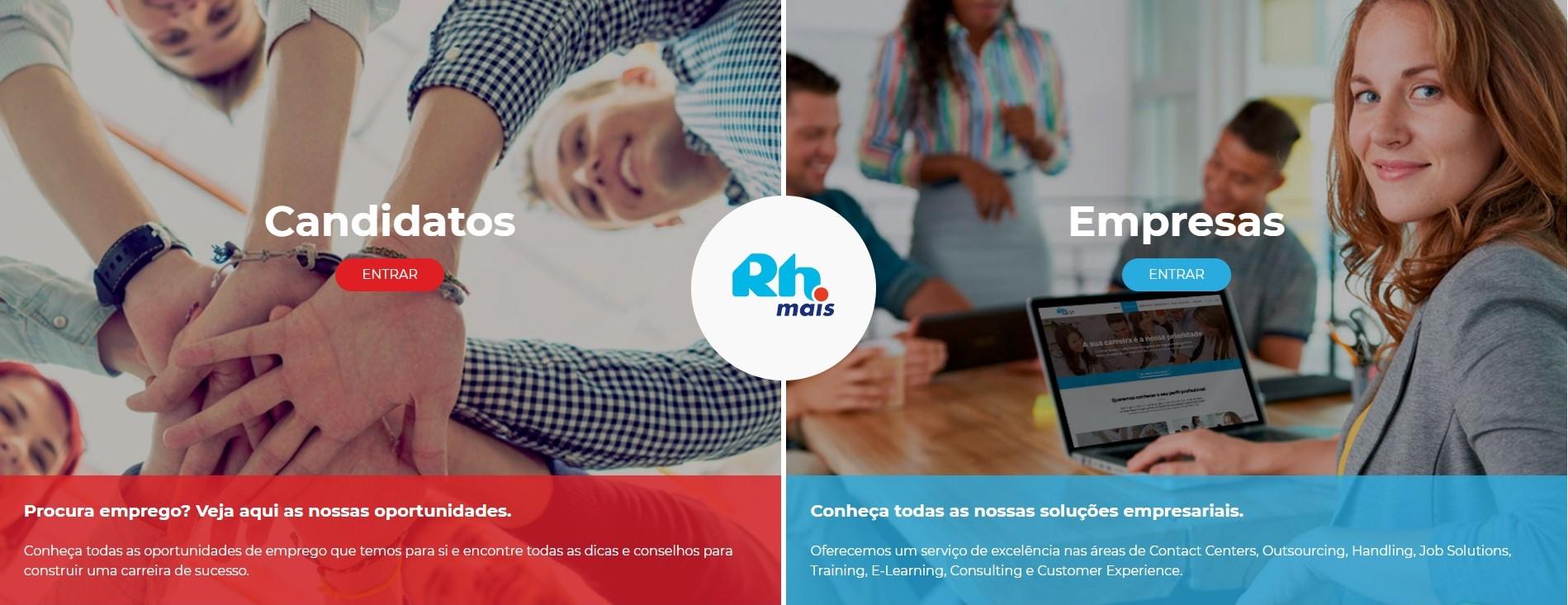 RHmais apresenta nova imagem digital